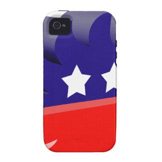Libertarian porcupine 3D iPhone 4/4S Cover