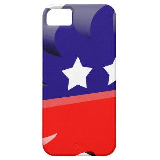 Libertarian porcupine 3D iPhone 5 Case