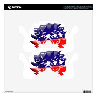Libertarian porcupine 3D PS3 Controller Skin