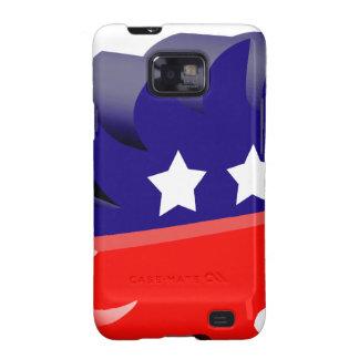 Libertarian porcupine 3D Samsung Galaxy S2 Cases