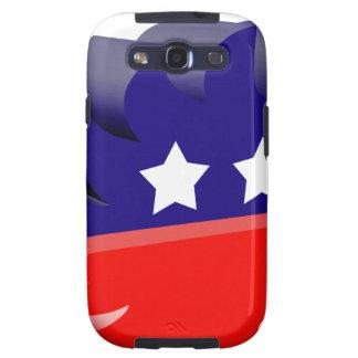 Libertarian porcupine 3D Samsung Galaxy S3 Case