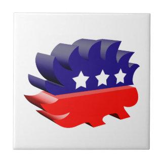 Libertarian porcupine 3D Tiles