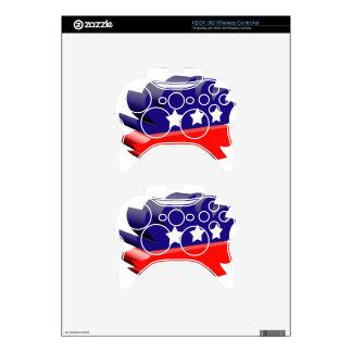 Libertarian porcupine 3D Xbox 360 Controller Skin