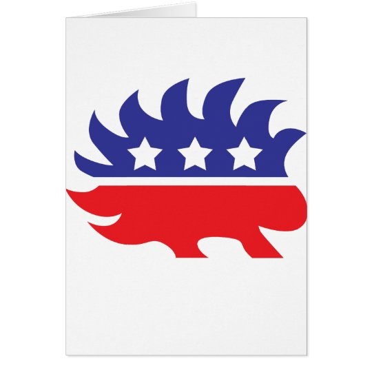 libertarian porcupine card