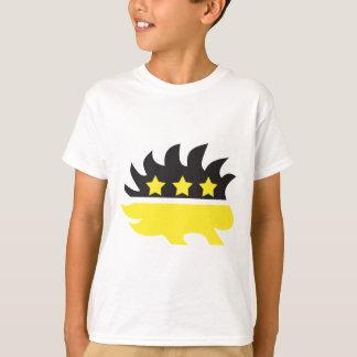 Libertarian porcupine logo (yellow) T-Shirt