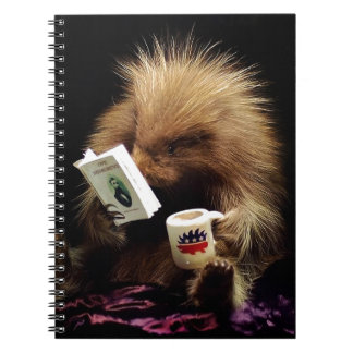 Libertarian Porcupine Mascot Civil Disobedience Notebook