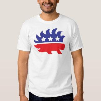 libertarian porcupine shirt