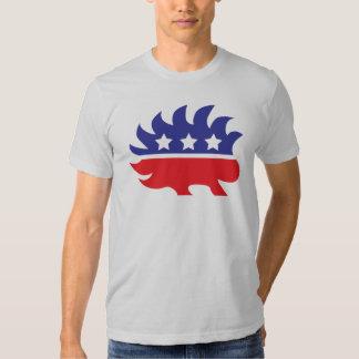 libertarian porcupine t-shirt