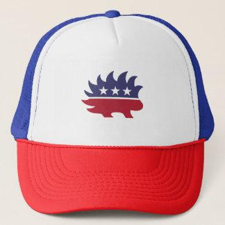 Libertarian Porcupine - -  Trucker Hat