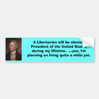 Libertarian President Bumper Stickers