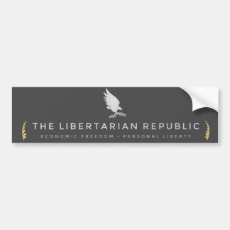 Libertarian Republic Bumper Sticker