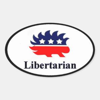 Libertarian Sticker