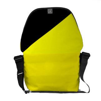 Libertarian stock market messenger bag