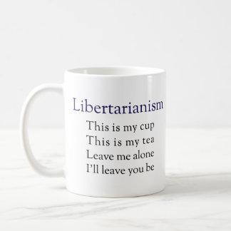 Libertarianism VS Socialism Coffee Mug