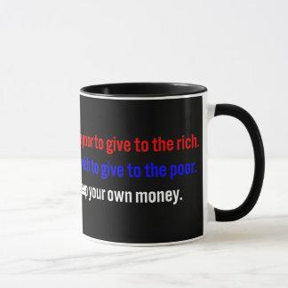 Libertarians say keep your money mug