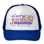 Libertario 2016 del presidente elección de Gary Gorras De Camionero