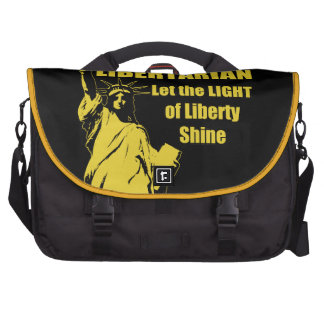 Libertario del voto bolsas de portátil