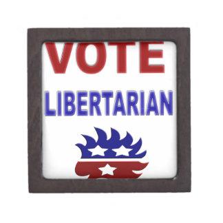 Libertario del voto caja de regalo de calidad