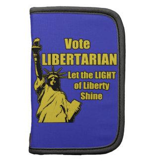 Libertario del voto planificadores
