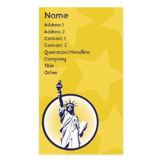 Libertario - negocio tarjetas de visita