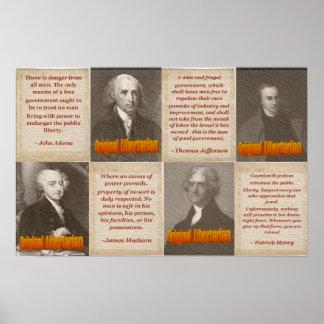 Libertarios originales póster