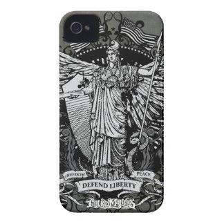 Libertas Lady Liberty Case iPhone 4 Case-Mate Case