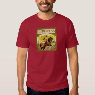 Libertas on Horse Tee Shirt