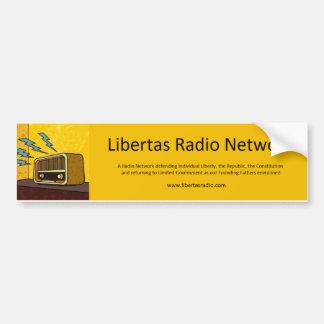 Libertas Radio Bumper Sticker
