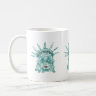 Libertas Verdigris - Statue Of Liberty Coffee Mug