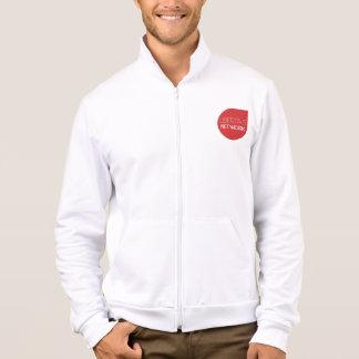 "Libertas Zip-Fleece White ""A YouTube Network fo... Printed Jacket"