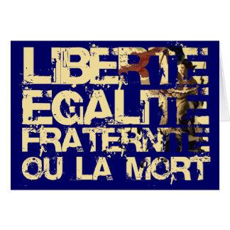 Liberte Egalite Fraternite French Revolution Cards