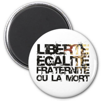 LIberte Egalite Fraternite!  French Revolution ! Magnet