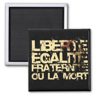 Liberte Egalite Fraternite: French Revolution Magnet