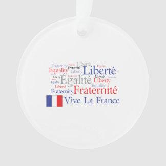 Liberté - Egalité - Fraternité : French Revolution Ornament