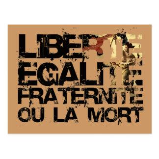 LIberte Egalite Fraternite French Revolution Post Cards