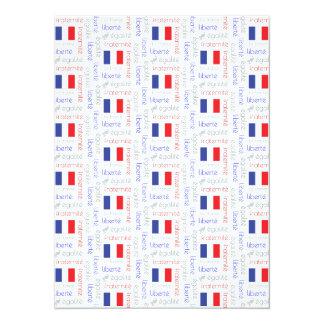Liberté - Egalité - Fraternité French Word Pattern Card