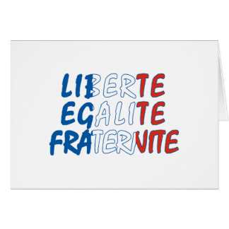 Liberte Egalite Fraternite Products Card