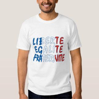 Liberte Egalite Fraternite Products Shirt