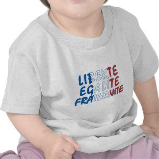 Liberte Egalite Fraternite Products Tee Shirt