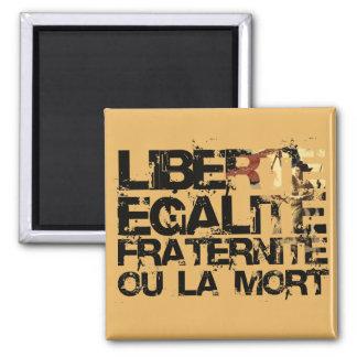 Liberte Egalite Fraternite Revolución Francesa Imán De Frigorifico