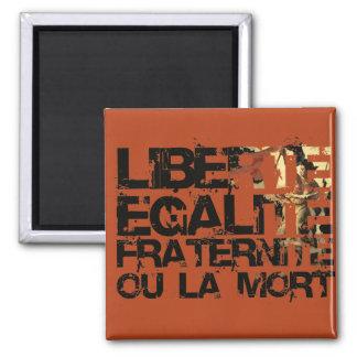Liberte Egalite Fraternite Revolución Francesa Imanes