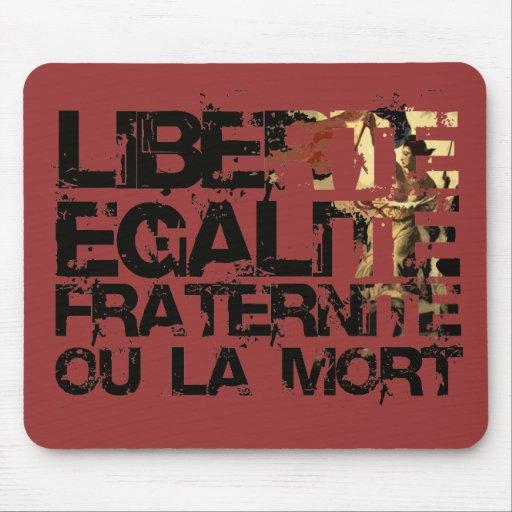 ¡LIberte Egalite Fraternite!  ¡Revolución Francesa Tapetes De Ratones