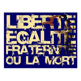Liberte Egalite Fraternite: Revolución Francesa Tarjetas Postales