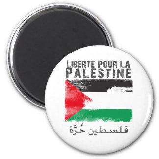 Liberté pour la Palestine (filistin hurra) 2 Inch Round Magnet