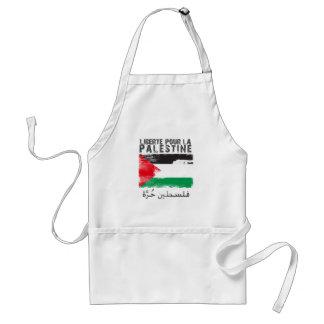 Liberté pour la Palestine (filistin hurra) Adult Apron