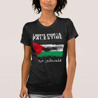 Liberté pour la Palestine (filistin hurra) T Shirt