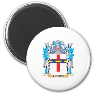 Liberti Coat of Arms - Family Crest Refrigerator Magnet