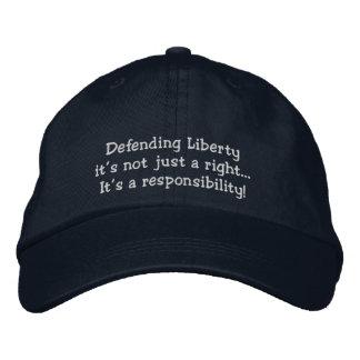Liberties Embroidered Baseball Cap