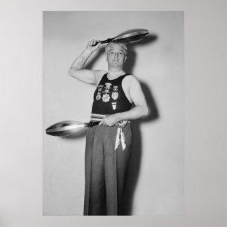Libertino del campeón, los años 30 impresiones