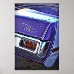 Libertino del dardo de 1970 Dodge Póster
